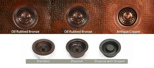 kitchen drain finishes and styles - Copper Kitchen Sinks Reviews