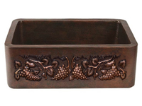 Two-Tone Copper Sink
