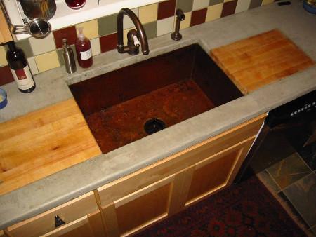 Installation Photos - Katheleenh   Copper Sinks Online