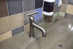 Sonoma Forge | Bathroom Faucet | Brut Elbow Spout | Deck Mount
