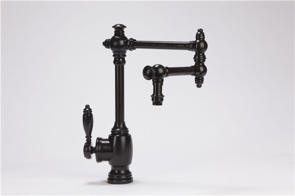 """Picture of Waterstone Towson Kitchen Faucet with Single Handle - 12"""" Articulated Spout"""