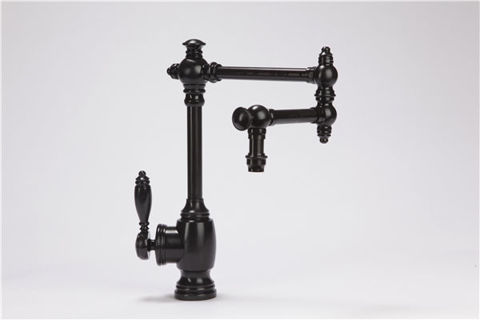 """Waterstone Towson Kitchen Faucet with Single Handle - 12"""" Articulated Spout"""