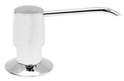 Picture of Solid Brass Skinny Pump Soap/Lotion Dispenser