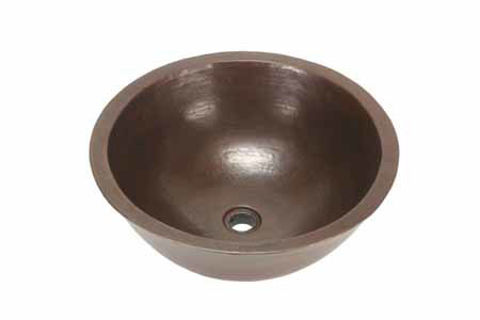 "18"" Colina Copper Vessel Sink by SoLuna"