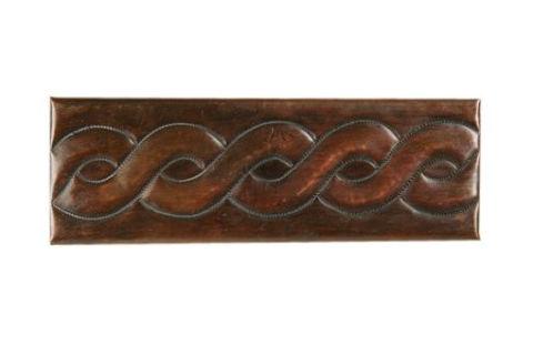 Copper Liner Tile - Braid by SoLuna