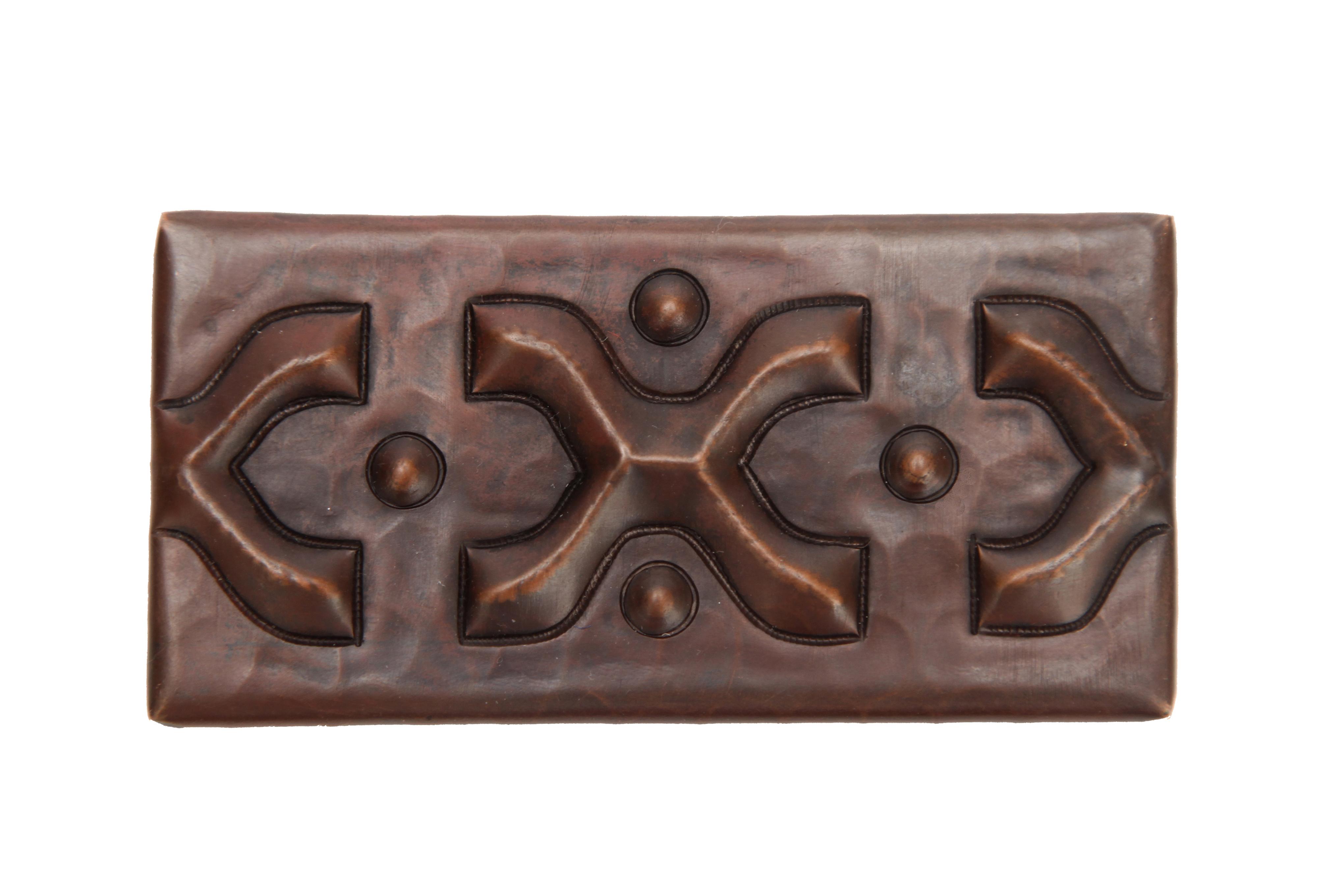 Picture of Copper Liner Tile - X Design by SoLuna
