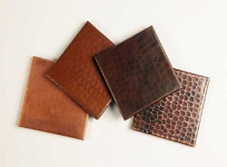 Copper Tile by SoLuna - Plain