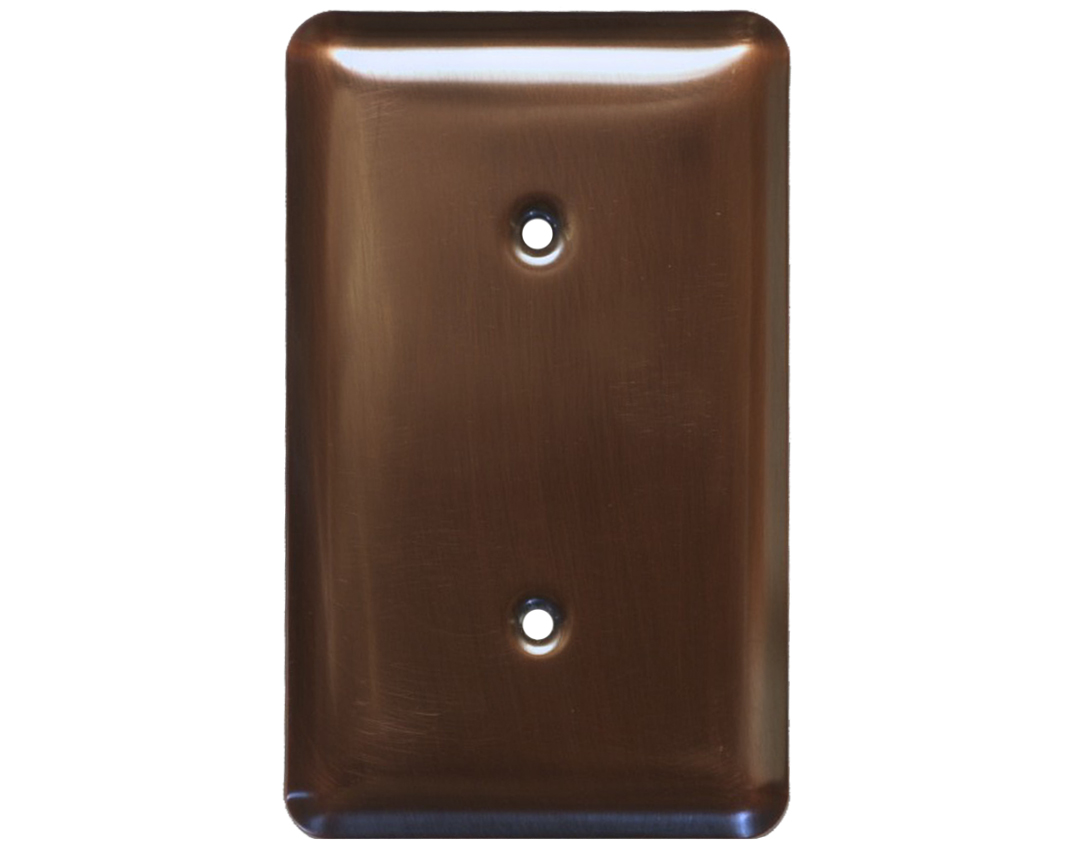 Picture of 1-5 gang Blank Copper Switch Plate Cover
