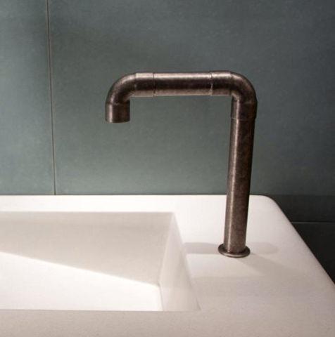 Sonoma Forge | Bathroom Faucet | Elbow Spout Vessel | Deck Mount | Hands Free