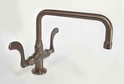 Sonoma Forge | Bar or Prep Faucet | Wingnut Square Spout | Deck Mount