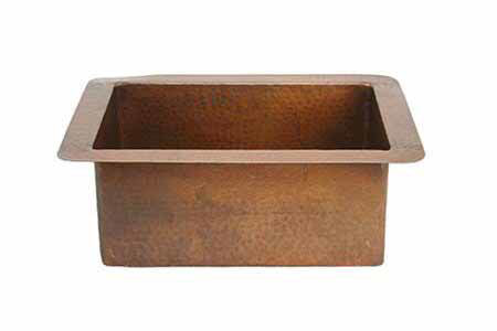 "Picture of 22"" Copper Bar Sink by SoLuna"