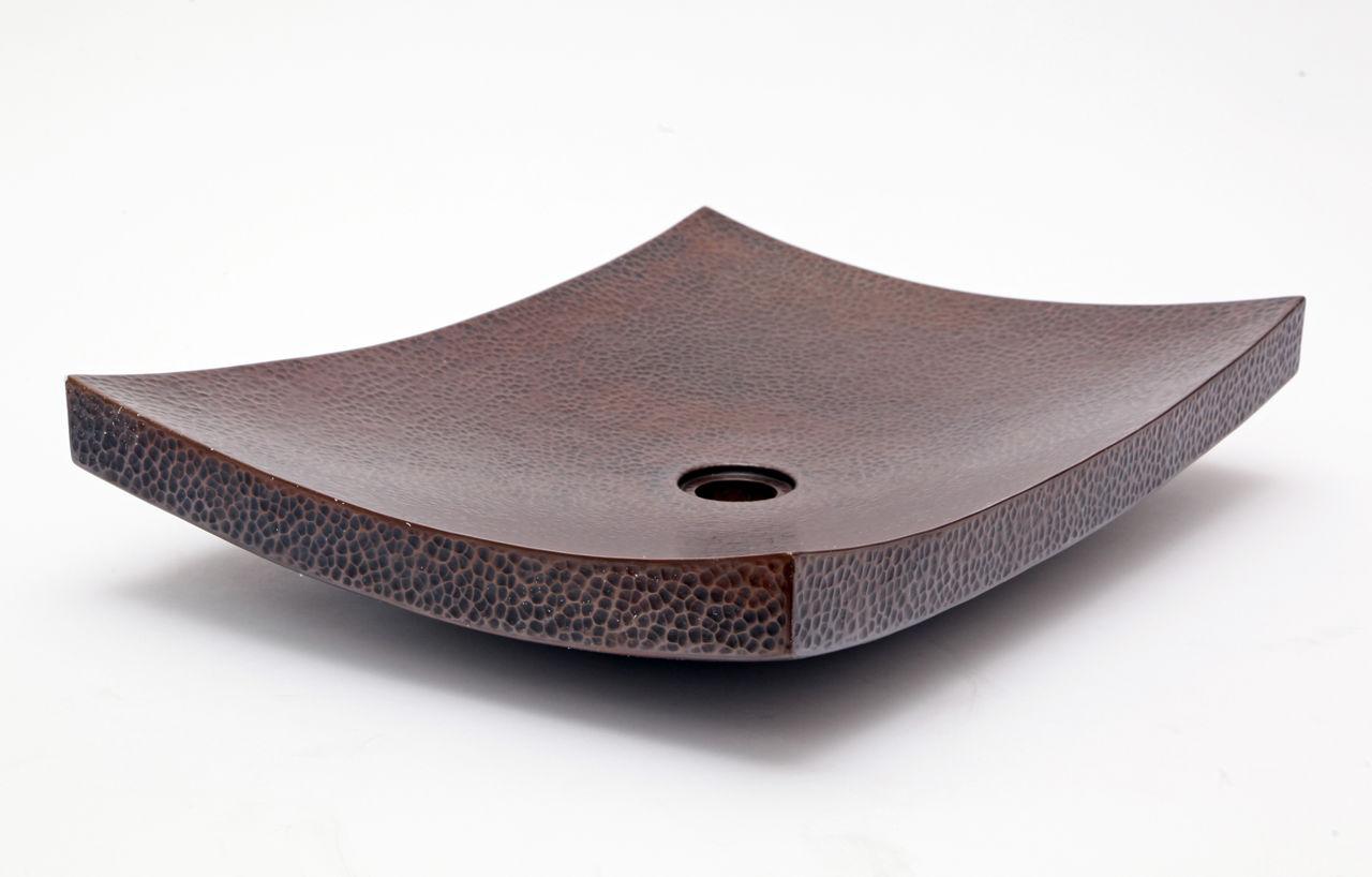 """Picture of 20"""" Zen Copper Vessel Sink by SoLuna"""