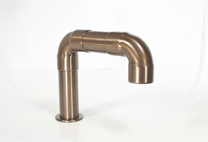 Picture of Sonoma Forge | Bathroom Faucet | Elbow Spout | Deck Mount | Hands Free