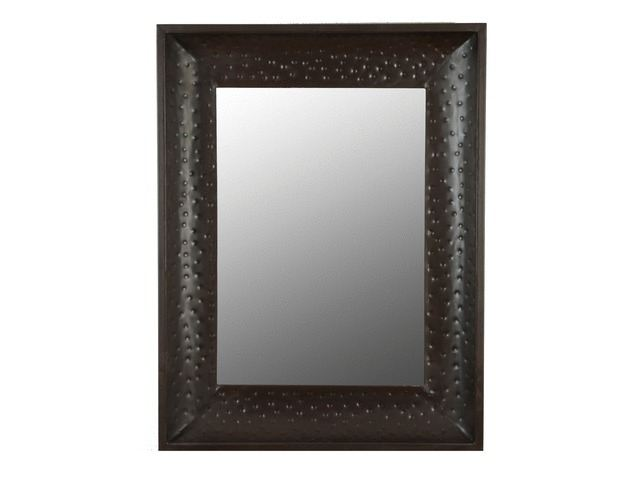 Picture of Large Hammered Metal Mirror Frame