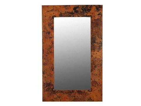 """Tall Copper Mirror 48"""""""