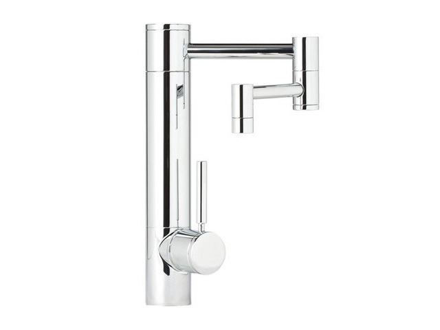 "Picture of Waterstone Hunley Kitchen Faucet - 12"" Spout Reach"