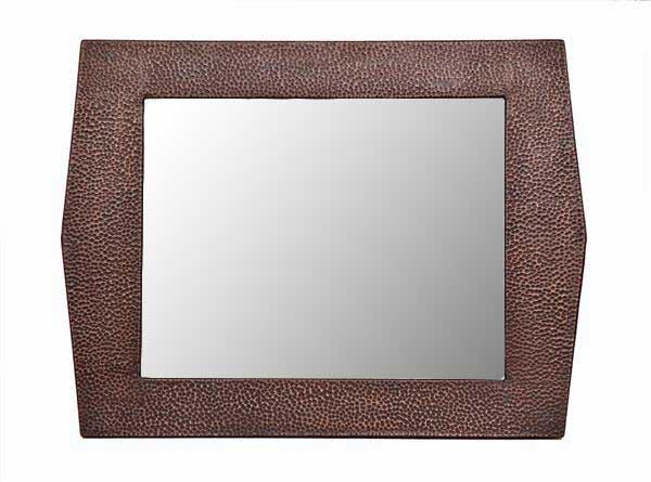 Picture of Large Copper Mirror