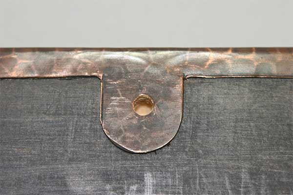 Picture of Copper Oval Mirror