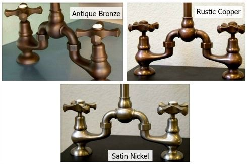 Picture of Sonoma Forge   Kitchen Faucet   Brownstone   Deck Mount
