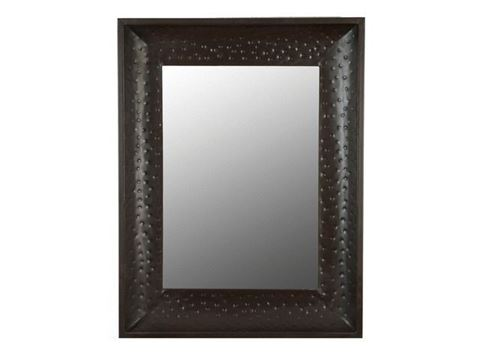 Medium Hammered Metal Mirror Frame