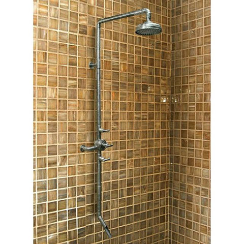 Sonoma Forge   Thermostatic Shower System   Waterbridge 970 with Tub Filler