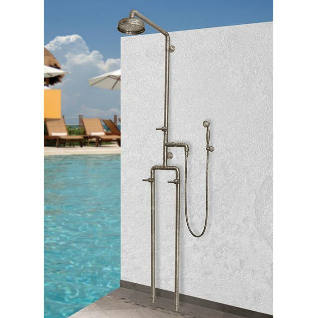 Picture of Sonoma Forge | Outdoor Shower | Waterbridge 1050 with Handshower