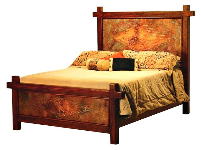 Picture of Gando Bed with Copper Panels