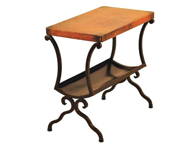 Picture of Revista Magazine Table with Copper Top