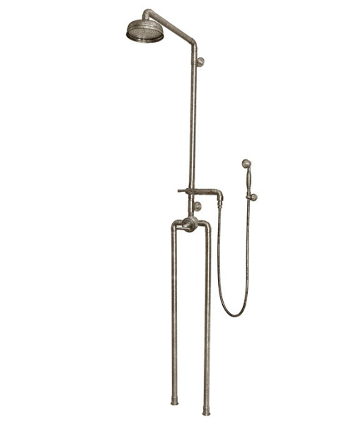 Picture of Sonoma Forge Waterbridge 1150 Exposed Outdoor Shower System with Handshower