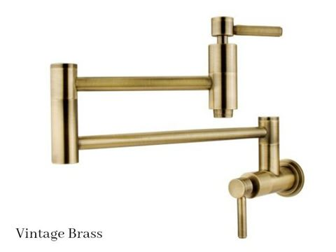 Kingston Brass Concord Swing Arm Pot Filler Faucet