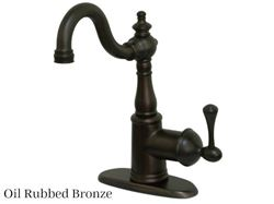 Kingston Brass English Vintage Single Post Bar Faucet