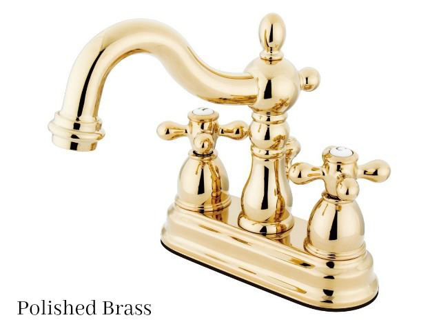 "Picture of Kingston Brass 4"" Heritage Centerset Bath Faucet"