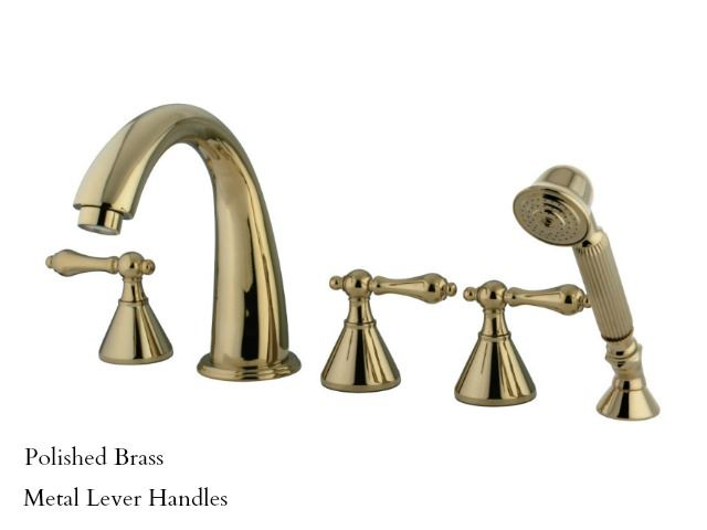 Picture of Kingston Brass Roman Tub Filler with Hand Shower