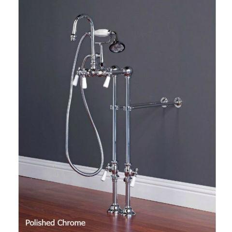 Tub Filler | Gooseneck with Hand Shower