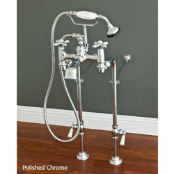 Tub Filler | Widespread with Hand Shower