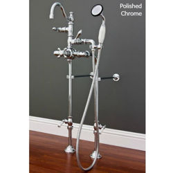 Tub Filler | Side-Mounted Hand Shower