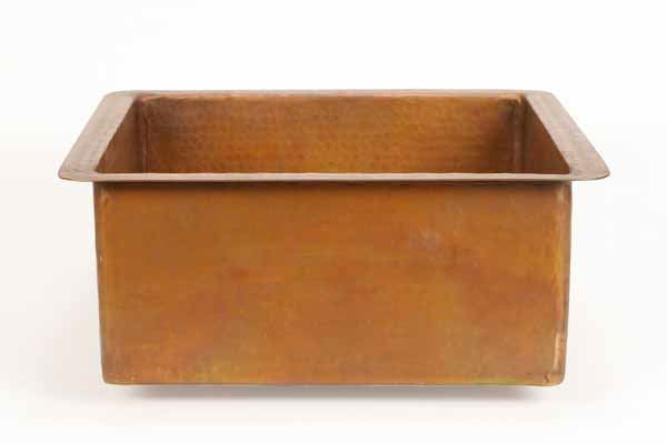 Picture of Square Copper Prep Sink