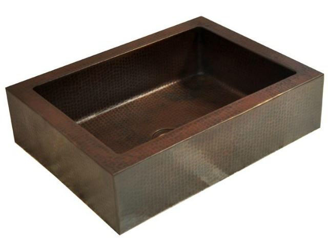 Picture of Rectangular Copper Vessel Sink by SoLuna