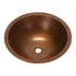 "Picture of 17"" Round Copper Bathroom Sink by SoLuna"