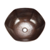 "Picture of 16"" Espeso Canto Copper Vessel Sink by SoLuna"