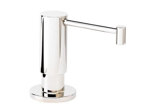Waterstone Contemporary Soap Dispenser - Satin Nickel - SALE