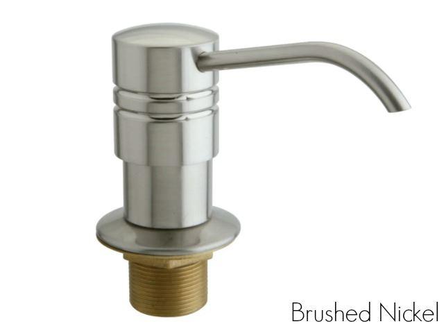Picture of Kingston Brass Straight Nozzle Metal Soap Dispenser
