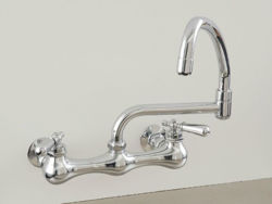Picture of Strom Plumbing Wall-Mount Swivel Pot Filler Faucet