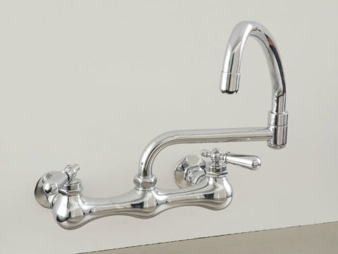 Strom Plumbing Wall-Mount Swivel Pot Filler Faucet