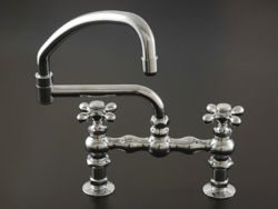 Picture of Strom Plumbing Deck-Mount Swivel Pot Filler Faucet