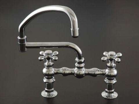 Strom Plumbing Deck-Mount Swivel Pot Filler Faucet
