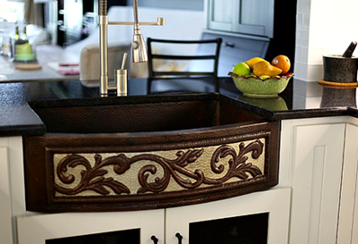 Ayesha's Copper Farmhouse Sink