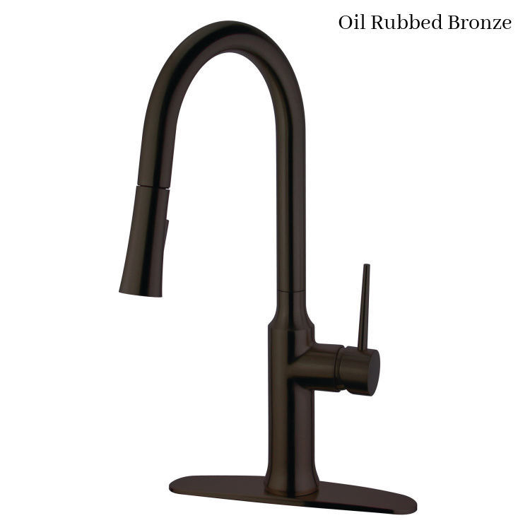 Kingston Brass New York Deck Mount Faucet LS2725NYL - Oil Rubbed Bronze finish