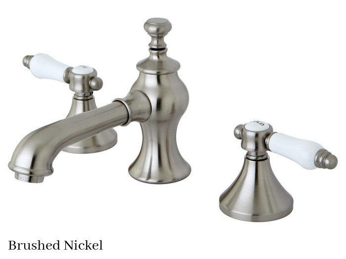 Kingston Brass Bel-Air Widespread Bathroom Faucet KC7068BPL Brushed Nickel