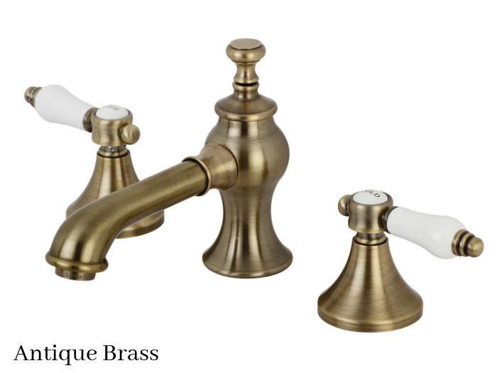Kingston Brass Bel-Air Widespread Bathroom Faucet KC7063BPL Antique Brass